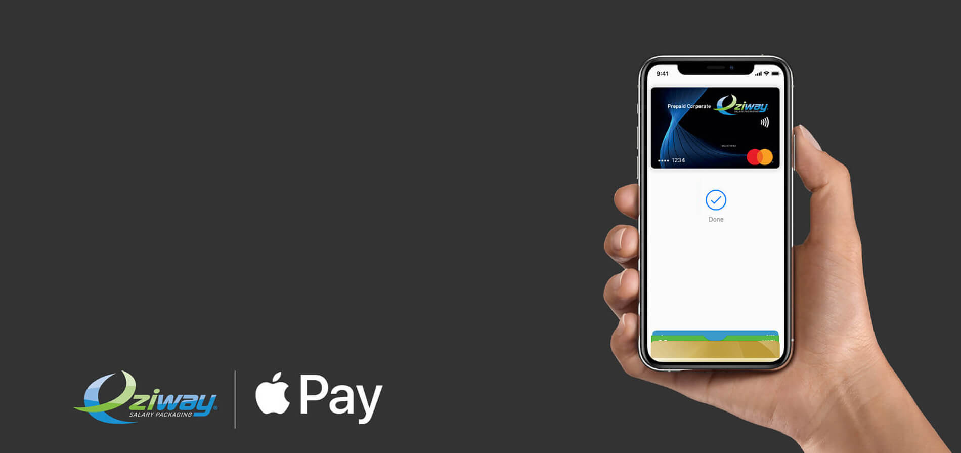 Eziway Prepaid card with Apple Pay