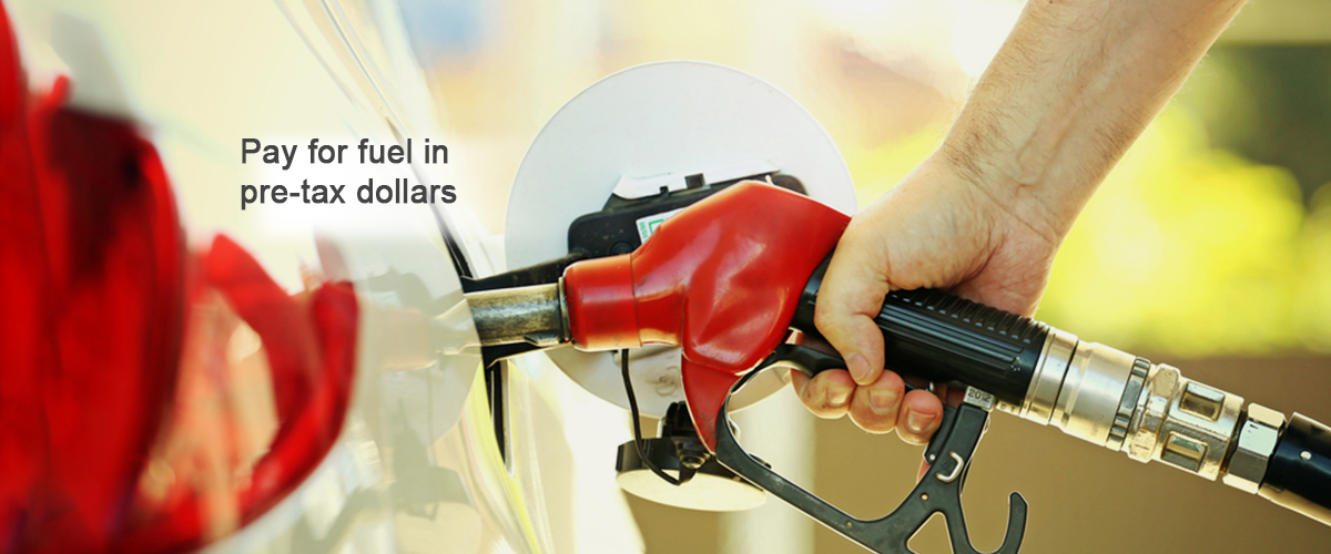 pay for fuel in pre-tax dollars